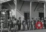 Image of Mexican soldiers during Mexican Revolution Huejutla Mexico, 1916, second 6 stock footage video 65675023066