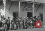 Image of Mexican soldiers during Mexican Revolution Huejutla Mexico, 1916, second 10 stock footage video 65675023066