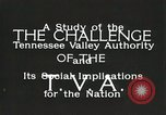 Image of Tennessee Valley Authority Tennessee United States USA, 1935, second 7 stock footage video 65675023069