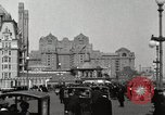 Image of Hotels and boardwalk Atlantic City New Jersey USA, 1917, second 2 stock footage video 65675023084