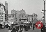 Image of Hotels and boardwalk Atlantic City New Jersey USA, 1917, second 8 stock footage video 65675023084