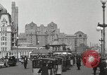 Image of Hotels and boardwalk Atlantic City New Jersey USA, 1917, second 10 stock footage video 65675023084