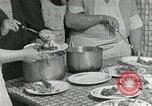 Image of Mission workers meal Campbell County Tennessee USA, 1935, second 10 stock footage video 65675023119