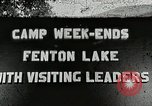 Image of Fenton Lake Fenton Michigan USA, 1938, second 1 stock footage video 65675023123