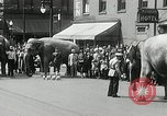 Image of Elephants bowling tourney Cincinnati Ohio USA, 1934, second 3 stock footage video 65675023131