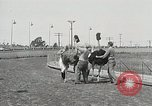 Image of Ostrich race El Cerrito California USA, 1934, second 2 stock footage video 65675023137
