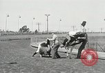 Image of Ostrich race El Cerrito California USA, 1934, second 4 stock footage video 65675023137