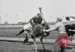 Image of Ostrich race El Cerrito California USA, 1934, second 10 stock footage video 65675023137