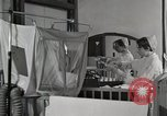 Image of baby in oxygen tent Detroit Michigan USA, 1936, second 10 stock footage video 65675023151