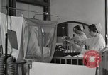 Image of baby in oxygen tent Detroit Michigan USA, 1936, second 11 stock footage video 65675023151