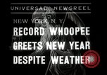 Image of New Year celebrations New York City USA, 1938, second 1 stock footage video 65675023165