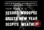 Image of New Year celebrations New York City USA, 1938, second 2 stock footage video 65675023165