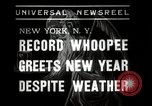 Image of New Year celebrations New York City USA, 1938, second 3 stock footage video 65675023165