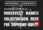 Image of Stanley Reed Washington DC USA, 1938, second 6 stock footage video 65675023166