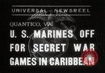 Image of United States Marines Quantico Virginia USA, 1938, second 1 stock footage video 65675023167