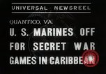 Image of United States Marines Quantico Virginia USA, 1938, second 7 stock footage video 65675023167