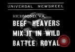 Image of Wrestling match Richmond Virginia USA, 1938, second 7 stock footage video 65675023168