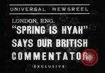 Image of Spring time London England United Kingdom, 1938, second 5 stock footage video 65675023175