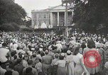 Image of President Truman announces Japan surrender Washington DC USA, 1945, second 8 stock footage video 65675023237