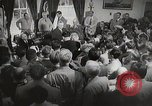 Image of President Truman announces Japan surrender Washington DC USA, 1945, second 12 stock footage video 65675023237