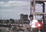 Image of Damaged city Tokyo Japan, 1945, second 6 stock footage video 65675023243