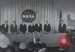 Image of NASA press conference Washington DC USA, 1959, second 10 stock footage video 65675023286