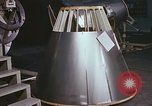 Image of Spacecraft assembly United States USA, 1960, second 10 stock footage video 65675023318