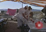 Image of Astronauts survival training Nevada United States USA, 1960, second 11 stock footage video 65675023346