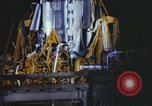 Image of Atlas missile 51D Cape Canaveral Florida USA, 1961, second 5 stock footage video 65675023354