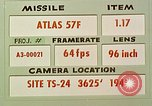 Image of Missile Atlas 57F United States USA, 1962, second 2 stock footage video 65675023369
