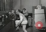 Image of NASA testing Hal Crandall for fitness Ohio United States USA, 1959, second 8 stock footage video 65675023415