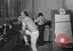 Image of NASA testing Hal Crandall for fitness Ohio United States USA, 1959, second 9 stock footage video 65675023415