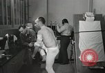 Image of NASA testing Hal Crandall for fitness Ohio United States USA, 1959, second 11 stock footage video 65675023415