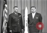 Image of Werner Von Braun United States USA, 1956, second 4 stock footage video 65675023474