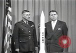 Image of Werner Von Braun United States USA, 1956, second 5 stock footage video 65675023474
