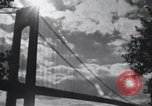 Image of Golden Gate Bridge construction San Francisco California USA, 1937, second 6 stock footage video 65675023499