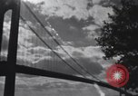 Image of Golden Gate Bridge construction San Francisco California USA, 1937, second 7 stock footage video 65675023499