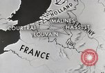 Image of bombed rail network Belgium Malines, 1944, second 12 stock footage video 65675023525