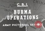 Image of Army mules ferried Burma, 1944, second 1 stock footage video 65675023528