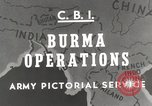 Image of Army mules ferried Burma, 1944, second 2 stock footage video 65675023528