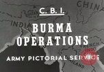 Image of Army mules ferried Burma, 1944, second 3 stock footage video 65675023528