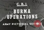 Image of Army mules ferried Burma, 1944, second 4 stock footage video 65675023528