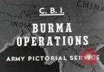Image of Army mules ferried Burma, 1944, second 5 stock footage video 65675023528