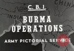 Image of Army mules ferried Burma, 1944, second 6 stock footage video 65675023528