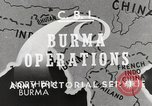 Image of Army mules ferried Burma, 1944, second 8 stock footage video 65675023528