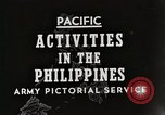 Image of General MacArthur Leyte Philippines, 1944, second 2 stock footage video 65675023529