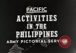 Image of General MacArthur Leyte Philippines, 1944, second 3 stock footage video 65675023529