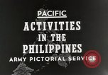 Image of General MacArthur Leyte Philippines, 1944, second 4 stock footage video 65675023529