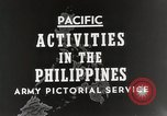 Image of General MacArthur Leyte Philippines, 1944, second 6 stock footage video 65675023529