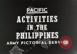 Image of General MacArthur Leyte Philippines, 1944, second 7 stock footage video 65675023529